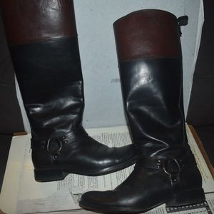 Frye Melissa Harness Riding Boot